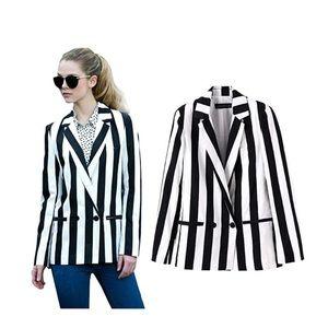 Jackets & Blazers - NWT stripped blazer